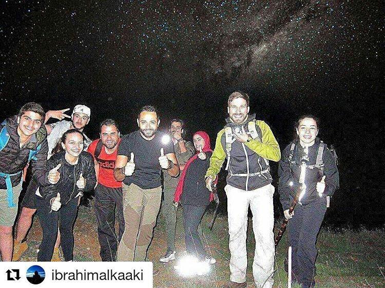 Repost @ibrahimalkaaki with @repostapp・・・ hiking fullmoon stars ...