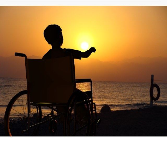 See the person , not the wheelchair 🌒 livelovebyblos proudlylebanese ...