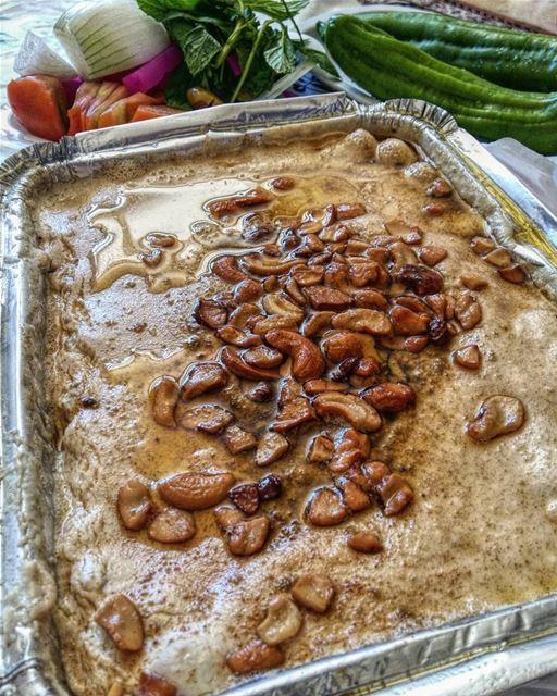 فتّة حمص 😍 yum yumyum nomnom delicious tasty picoftheday photooftheday... (Beirut, Lebanon)