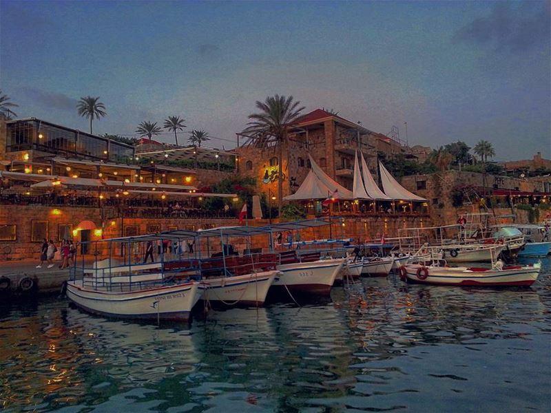 Medieval Sunset. Medieval Mediterranean city love LiveloveLebanon ... (Byblos, Lebanon)