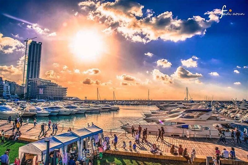 photo fadiaounphotography Lebanon beirut sunset clouds sky ...