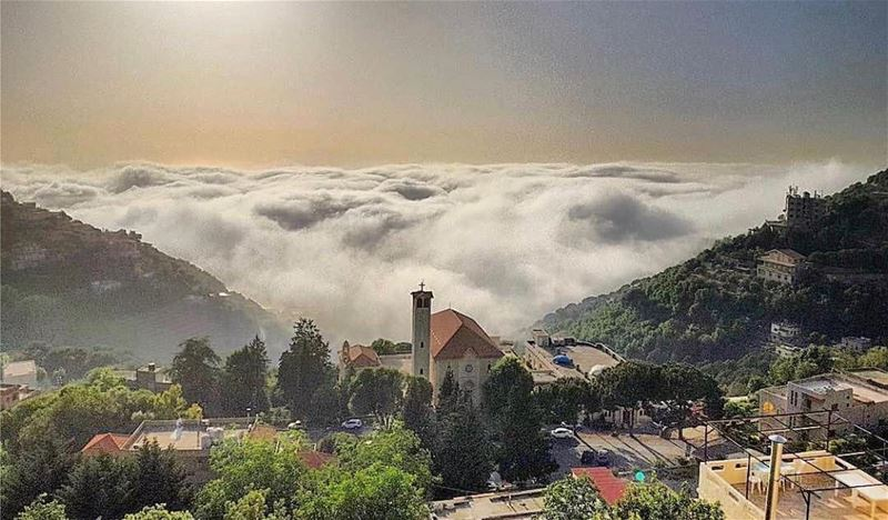 Amazing view from harisaPhoto by @eliasksaadeh Share the beauty of ... (Ghosta-Harissa)