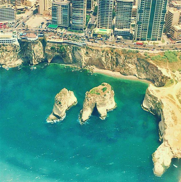 Landing to the incredible city BEIRUT LiveLoveBeirut ... (Beirut, Lebanon)
