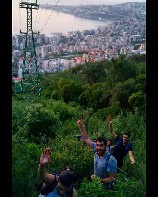 Climbing up straight to Harissa  vowhike  vowclimb  hike  hiking ...
