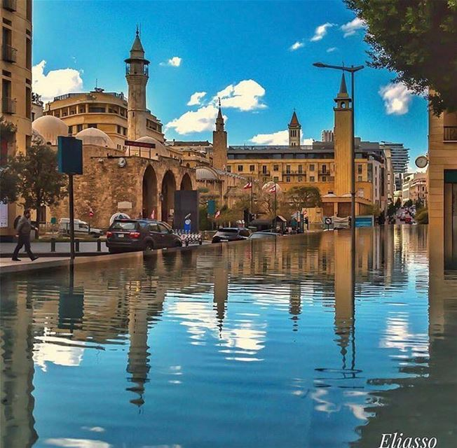 Amazing view from beirut downtownbeirut Photo by @eliasso Share the... (Downtown Beirut)