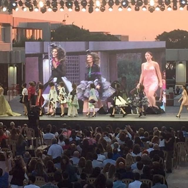 NDU fashion show students graduation livelovelebanon livelovebeirut... (NDU Main Campus)