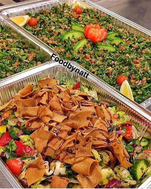 När man blir sugen på fattoush o tabbouleh b hal wa2et ☹️@foodbynatt ...