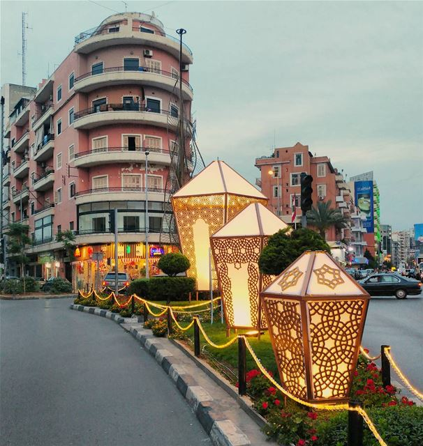 Tripoli is all ready for Ramadan ✨ (Tripoli, Lebanon)
