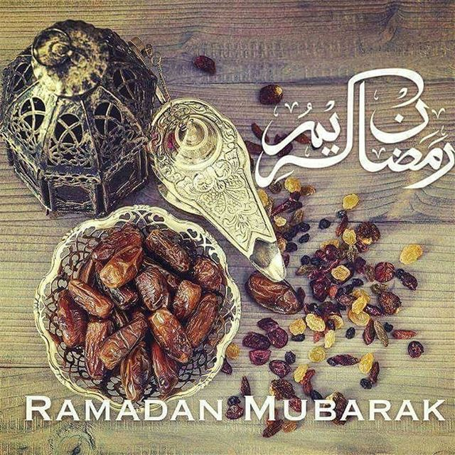 May you be blessed with peace, joy and prosperity in this holy month....