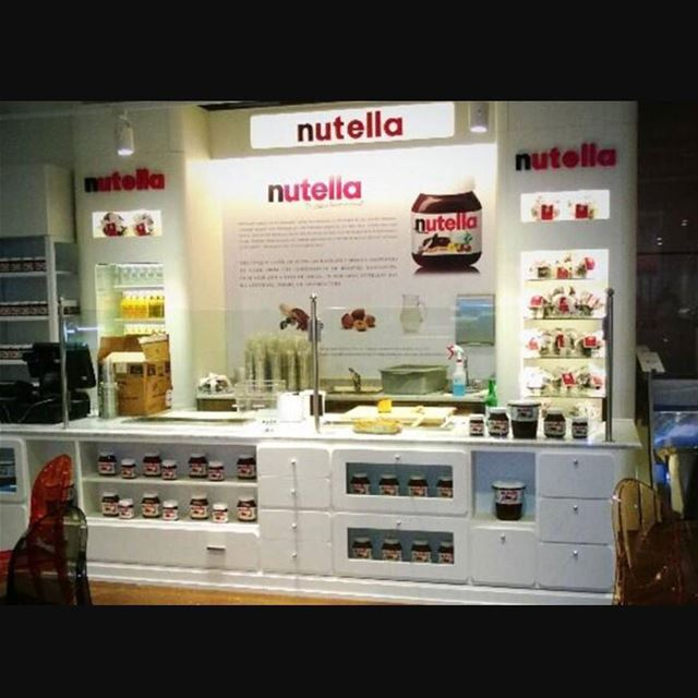 Tag a Nutella fan❤....The fisrt Nutella café is about to open on May... (Michigan)