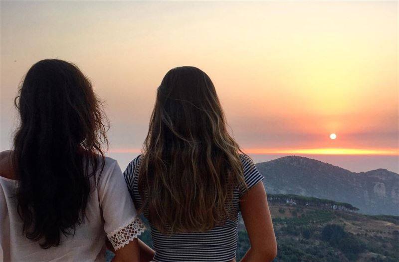 I just want to say Thank you for giving me such an amazing friendship 🌅❤ ... (Hadath Al Jubbah, Liban-Nord, Lebanon)