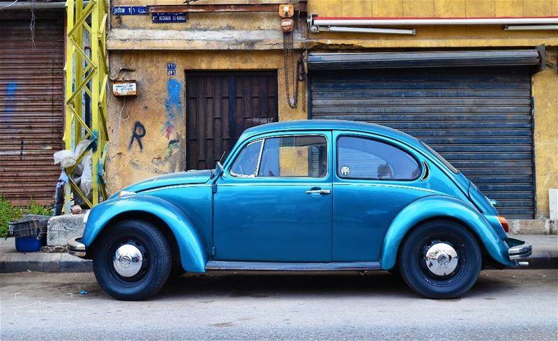 Blue love, Das Auto 💙💙💙 (Sinn Al Fil, Mont-Liban, Lebanon)