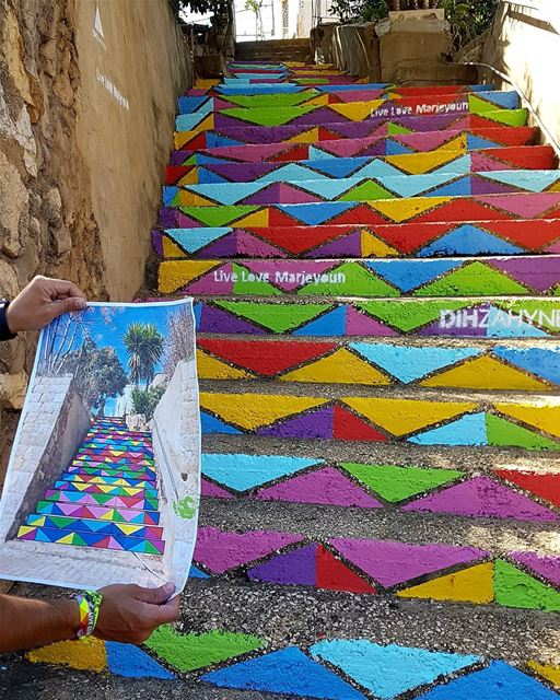 There is no elevator to success you have to take the stairs❤💜💛💖💚 ... (Marjayoûn, Al Janub, Lebanon)