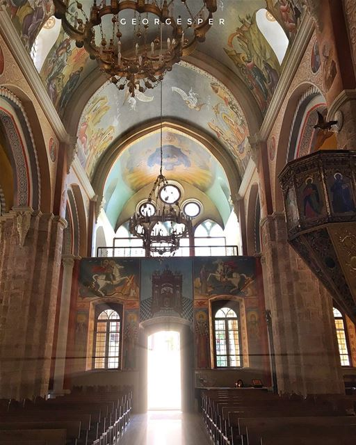 Saint George Cathedral is the oldest church in the city of Beirut, and one... (Beirut, Lebanon)