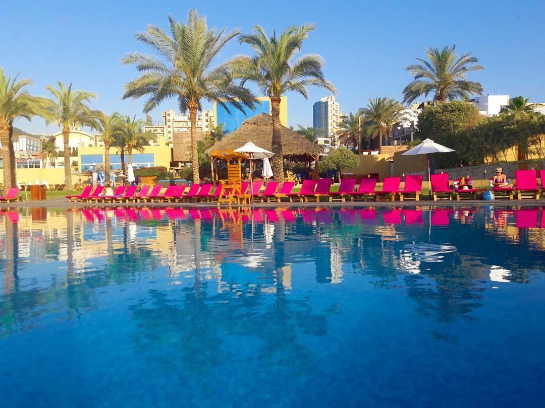 Koa Beach Resort S Reflection Snapshot Kaslik Lebanon