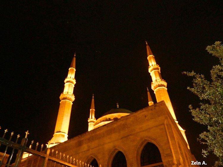 Ramadan Karim🌙🎆 good evening ramadan karim everybody travel ... (Mohammad Al Amin Mosque)