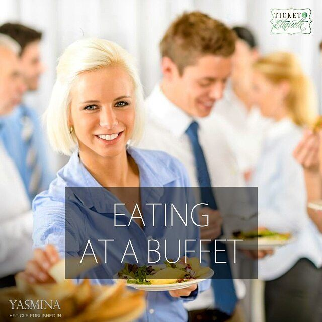 Vera on etiquette tips for eating at a buffet with @gracytta in @yasmina (Beirut, Lebanon)
