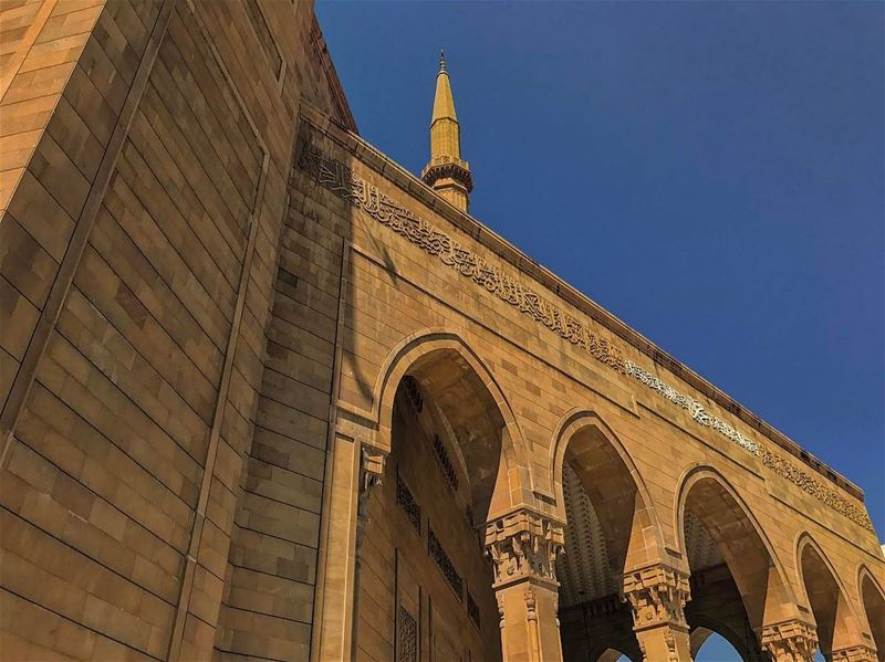 Ramadan Kareem 🌙😃• lebanonhouses livelovelebanon livelovebeirut ... (مسجد محمد الأمين)