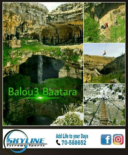 Balou3 Baatara Adventure Day join us this sunday 28th of May Rappel, ...