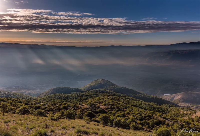 sunrise mountain lebanon mountlebanon shouf cedar biosphere ... (Shouf Biosphere Reserve)