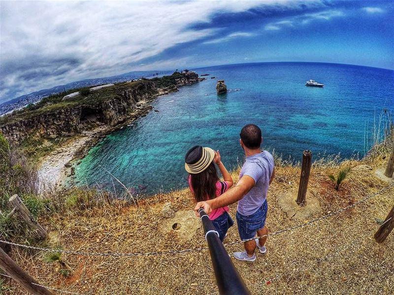 ❤ couplegoals 👫 livelovelebanon goproleb gopro goprophotography ... (Camping Les Colombes - Amchit)