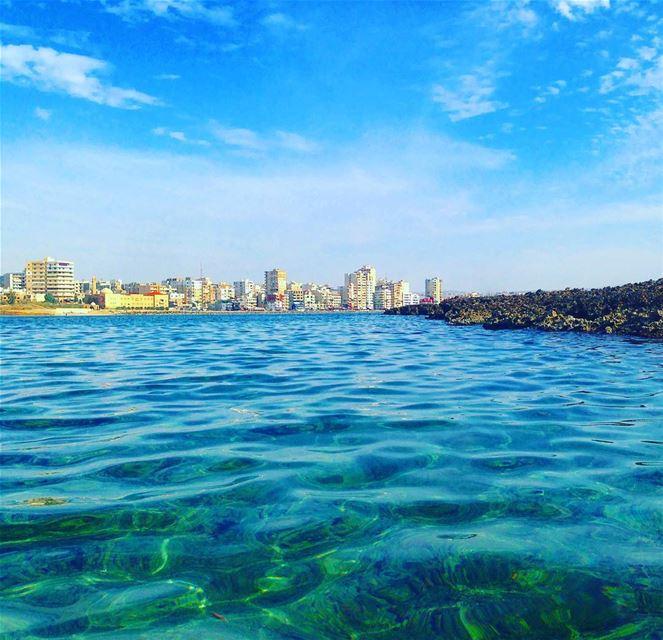 tyre tyr sour tyrecity sourcity tyrepage southlebanon beach ... (Al Jamal Tyr)