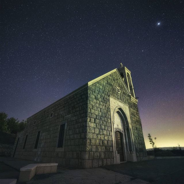 landscape night nightphotography longexposure church stars astro...