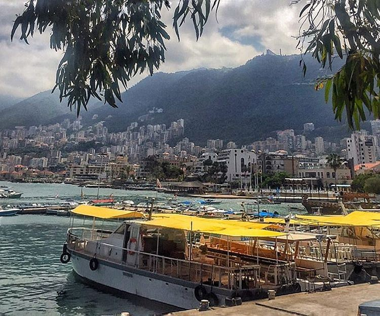 This beautiful thing called Jounieh❤......... lebanon ... (ATCL)