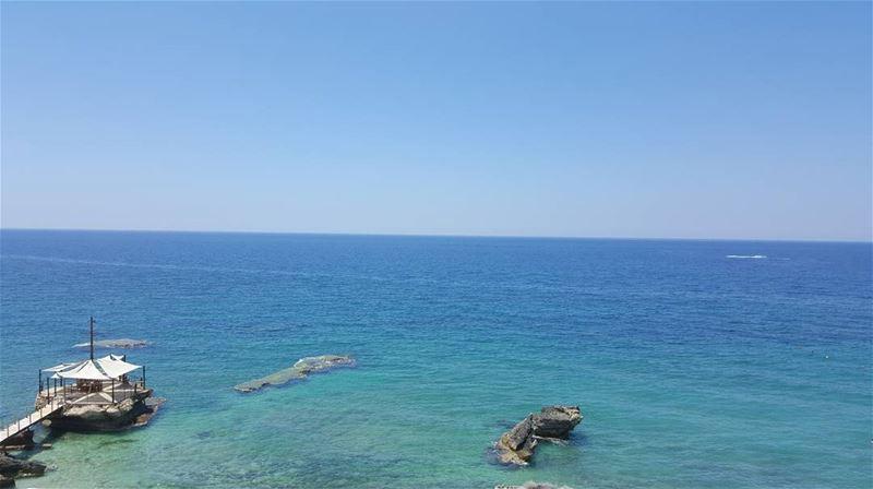 🏝.................. summer beach sky batroun ... (Batroûn)