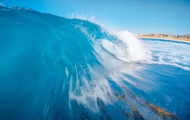 The perfect endless wave 🌊 surf surfphotography wonderful_places ... (Batroûn)