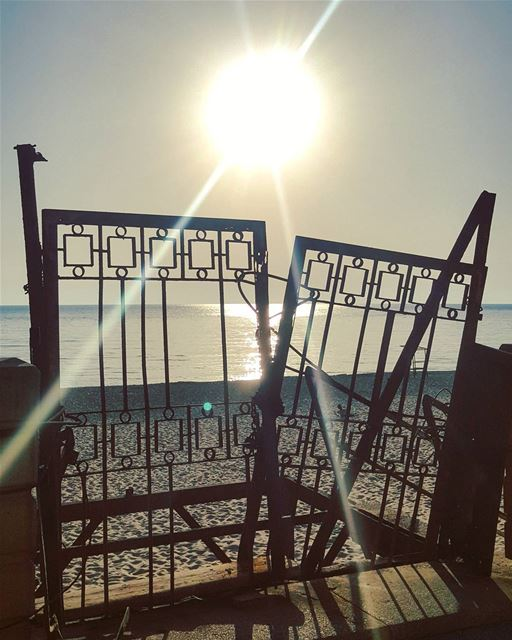 Obstacles are always there..But Sun is Always Stronger..🌞🌛🌝........ (Beirut, Lebanon)