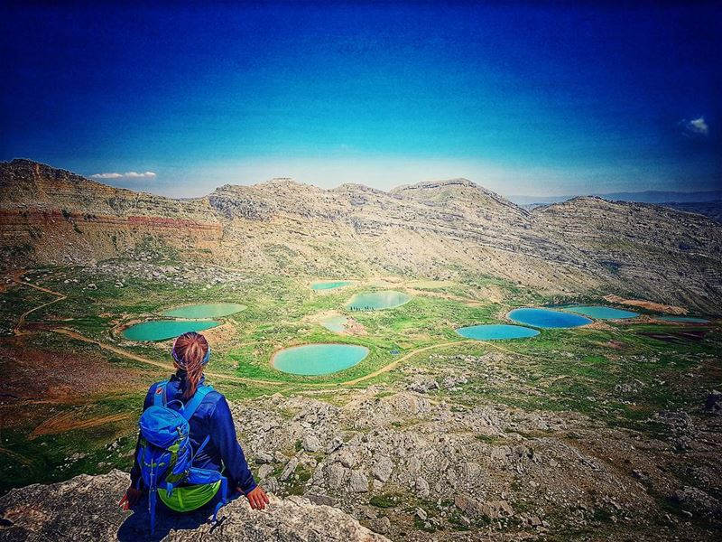 It might be a dejavu pic but it is a must to add it on my instaprofile 🇱 (Akoura, Mont-Liban, Lebanon)