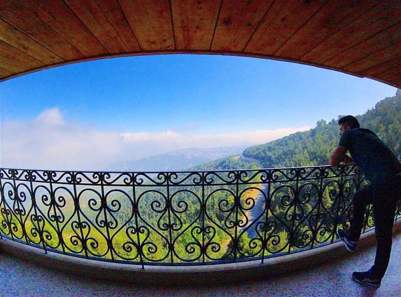 Amazing view from aitou Photo by @mark.unes Share the beauty of ... (Aïtou, Liban-Nord, Lebanon)
