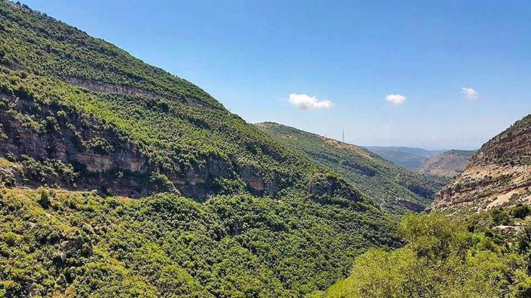 Deep valley. Lebanon LiveloveLebanon lebanese nature Mountains ... (Kfarhilda, North)