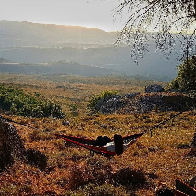 Some women want diamonds others Just Want a hammock, a campfire, and some... (Marjayoûn, Al Janub, Lebanon)
