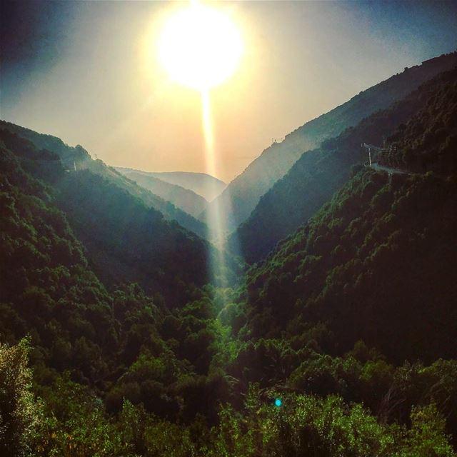 lebanon baskinta bteghrine road mountain range nature beauty ...