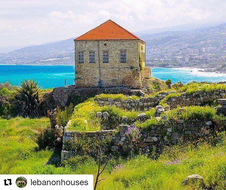 Jbeil, Lebanon 🌲🐳 Mediterranean Akdeniz... 📸 Repost @lebanonhouses ( (جبيل)