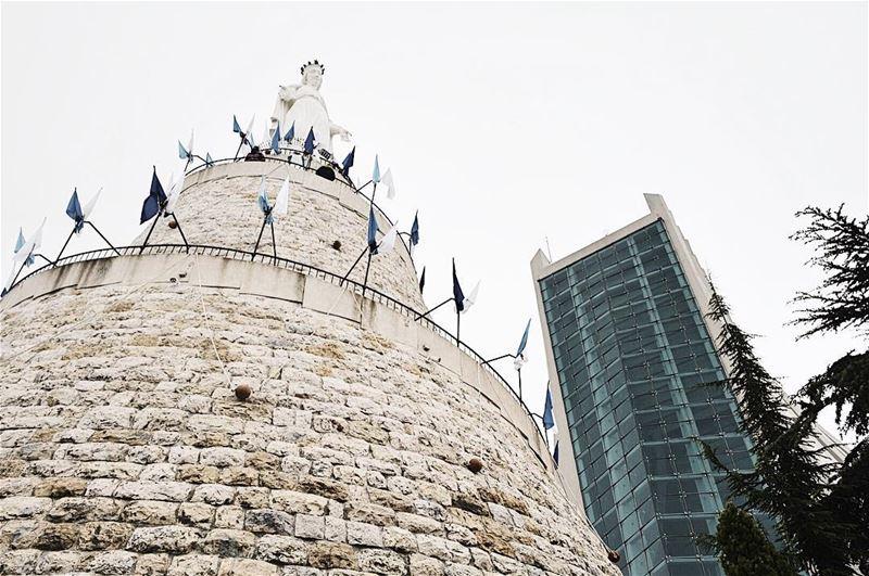 The Lady of Lebanon. ... (Harîssa, Mont-Liban, Lebanon)