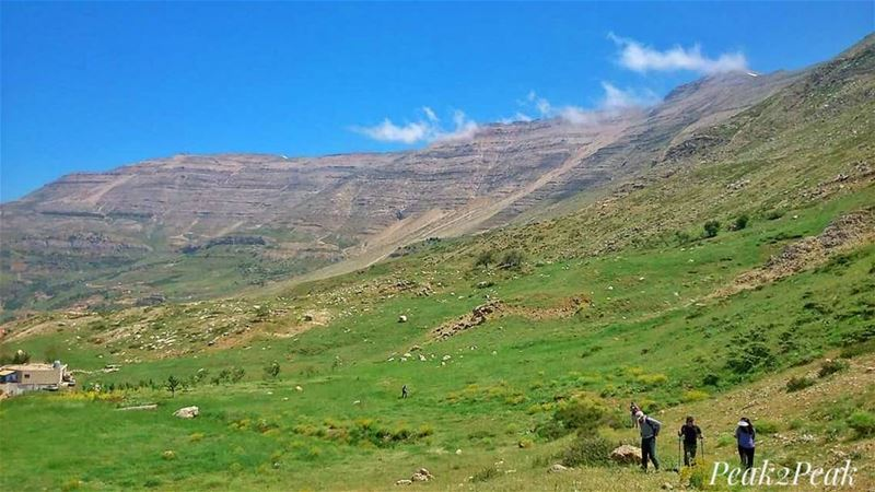 Hiking is the best way to discover our lovely Lebanon.🇱🇧🌍... hiking... (Lebanon)