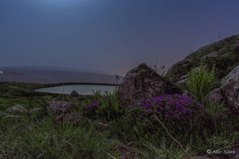 🇱🇧Lebanon🇱🇧 Lebanon mountlebanon akoura pond nightlandscape ... (Akoura, Mont-Liban, Lebanon)