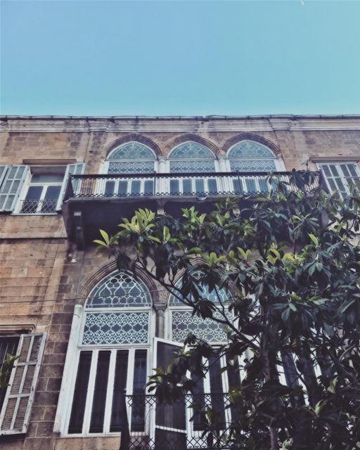 Arcade Windows Old Beirut Door Heritage SaveBeirutHeritage ... (Beirut, Lebanon)