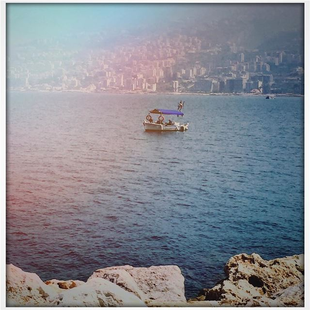Shores boat sea blue seascape landscape ig_mood princely_shotz ...