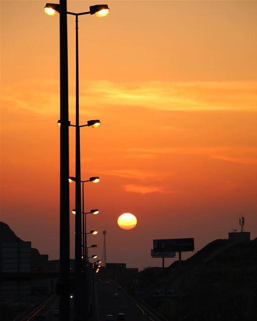 Like no other sunset 🌅 ..... sunset sunsetlovers sunset_pics... (Rwayset Sawfar)