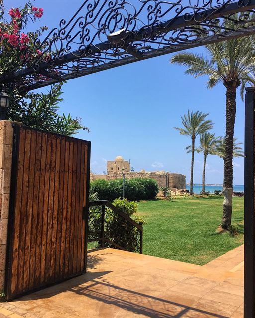 Saida Sea Castle, A different perspective myhometown mycity mysaida ... (Sidon Sea Castle)