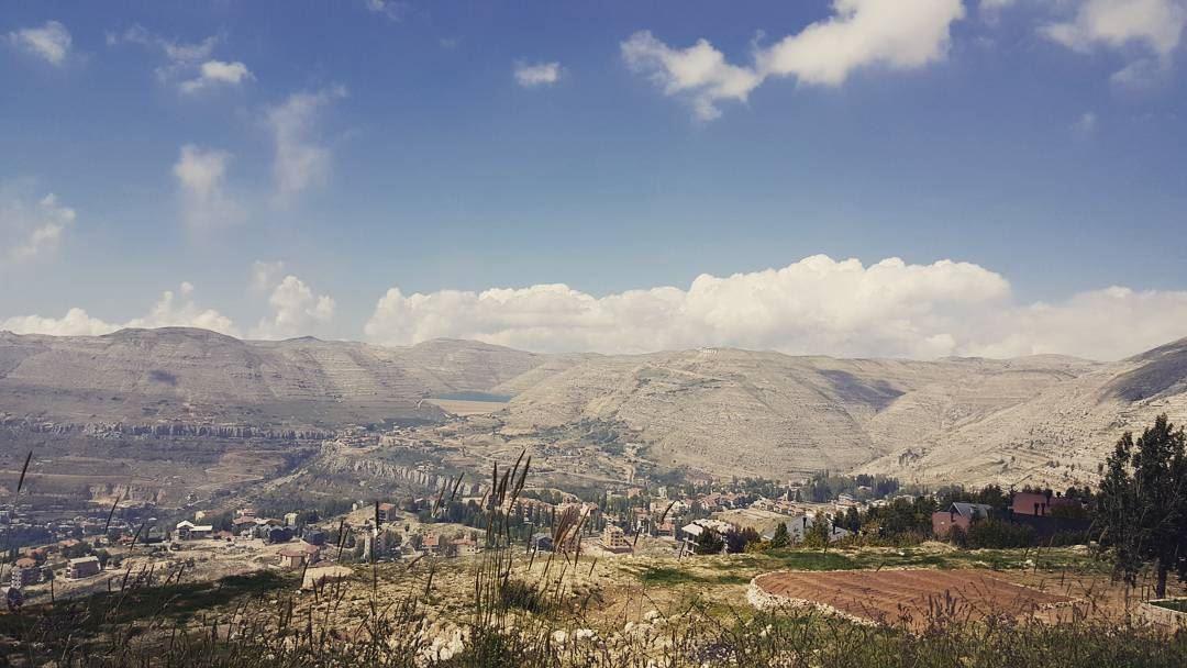 lebanon mountains kfardebiane chabrouh clouds village ...