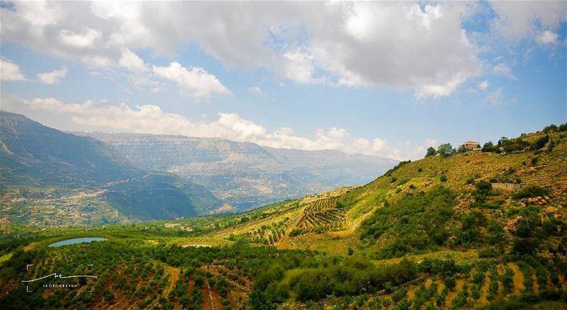 Mountains love ❤❤❤ (Akoura, Mont-Liban, Lebanon)