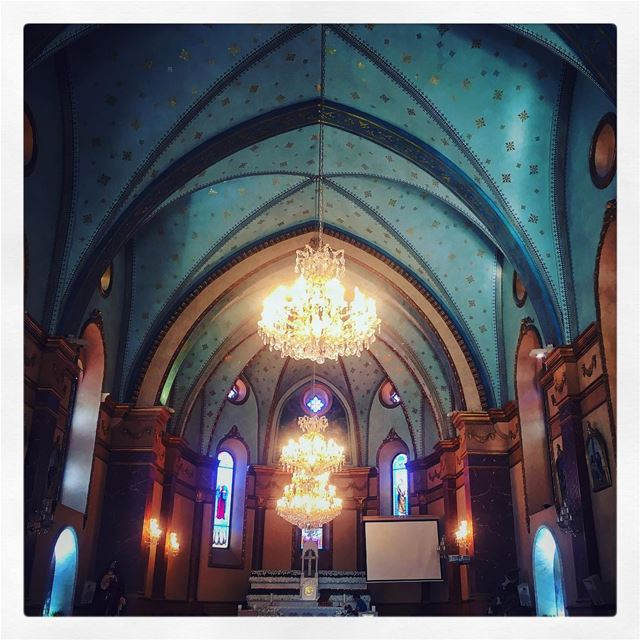 Discover your country first... qornetAlHamra church livelovelebanon ... (Mount Lebanon Governorate)