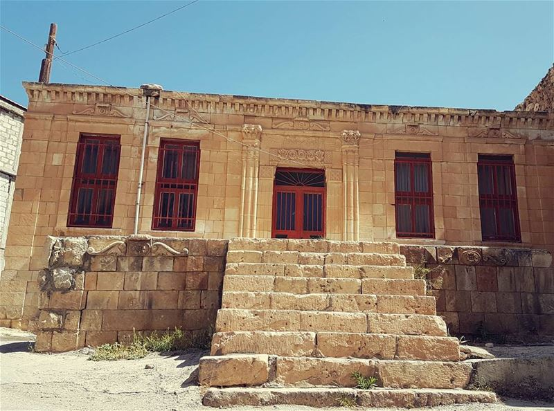 Old house from hermel our treasure bekaa hermel_city old house ...