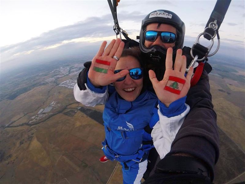 Up and up 🇱🇧🇭🇺 Skydiving 5000m ... (Évora)