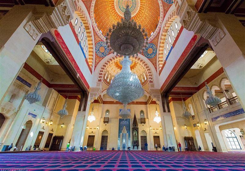 Mohammad Al-Amin MosqueBlue MosqueBeirut, Lebanon ••••• iglebanon ... (Mohammad al-Amin-moskén)